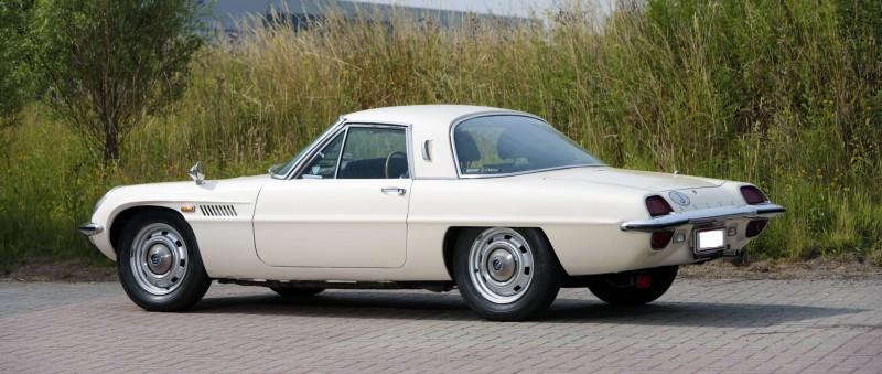 A Cosmo saját korában is ritka járműnek számított, ma pedig már különösen az