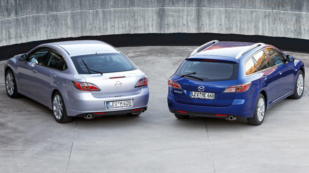 Az ötajtós karosszéria a Mazda6 második generációjával együtt tűnt el