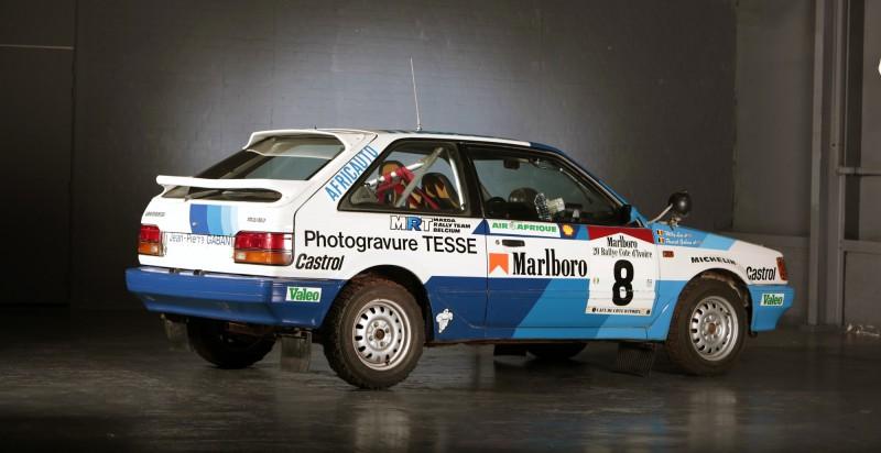 A Mazda az 1980-as években tette le névjegyét a ralisportban