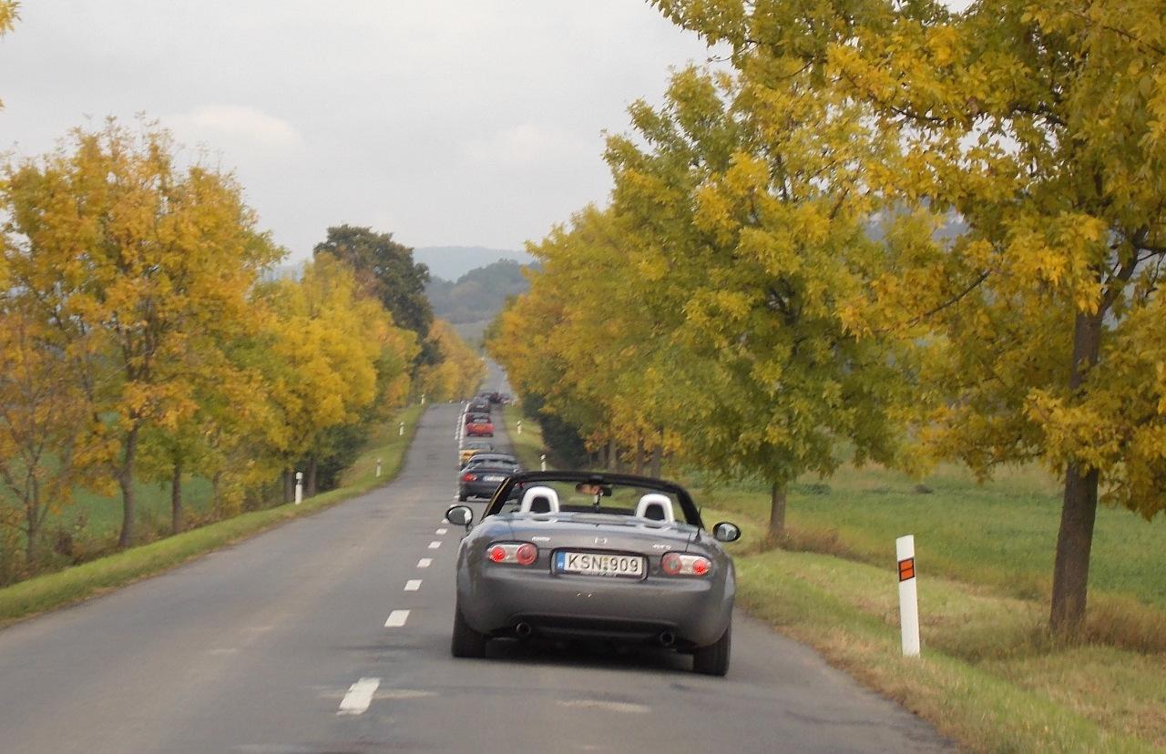 Az őszi színek is jól állnak az MX-5-ösöknek