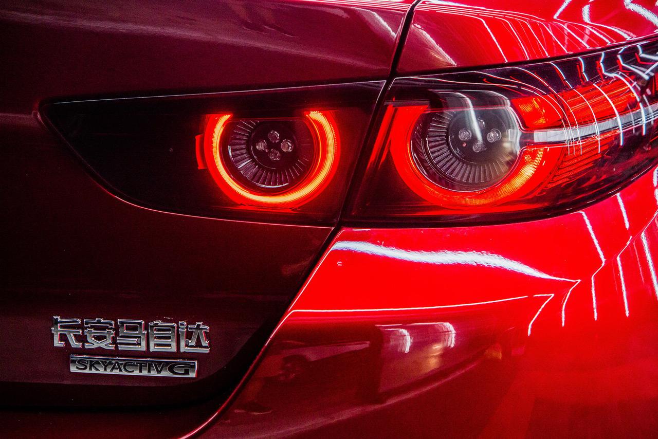 Kínában kizárólag a lépcsőshátú Mazda3 elérhető