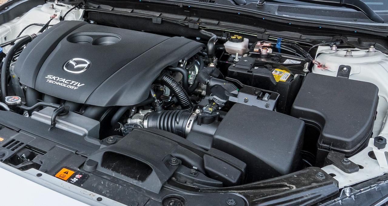 Kínában továbbra is az előző generáció egyszerűbb Skyactiv erőforrásai mozgatják a Mazda3 modelleket