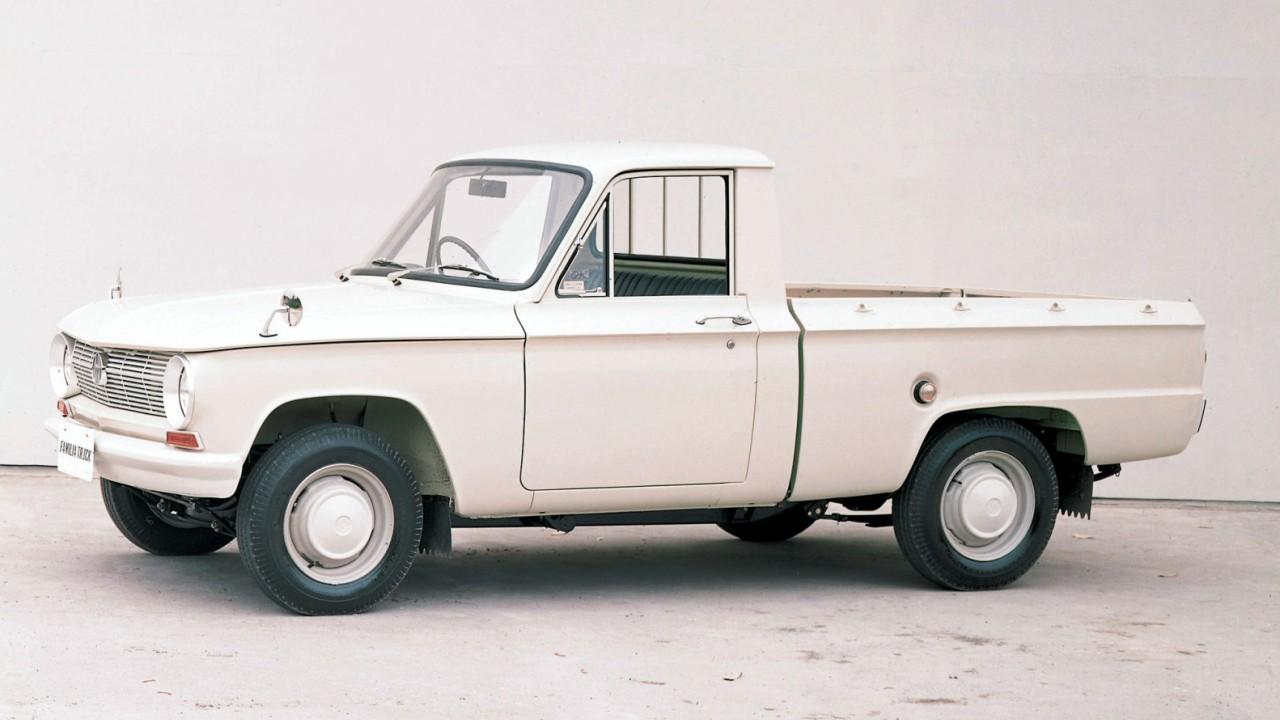 Érdekesség, hogy a B2500 ősök mellett más Mazda típusokból is készült pickup változat. A képen egy Mazda Familia pickup