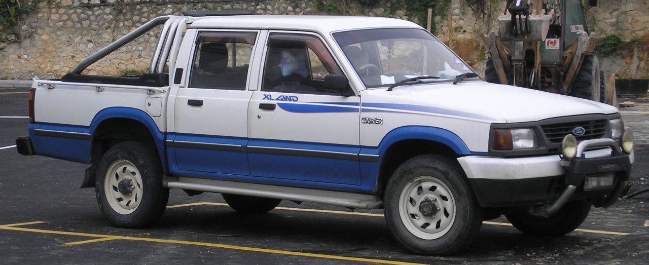 Az 1990-es években kívül és belül, valamint Ford emblémával egyaránt megújult a negyedik B-sorozat, és ezzel a megjelenéssel ismerjük már mi magyarok is