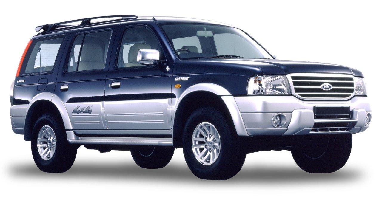 Indiában Ford Endeavour néven került forgalomba a Mazda B-sorozatának alapjaira épített Ford Everest terepjáró