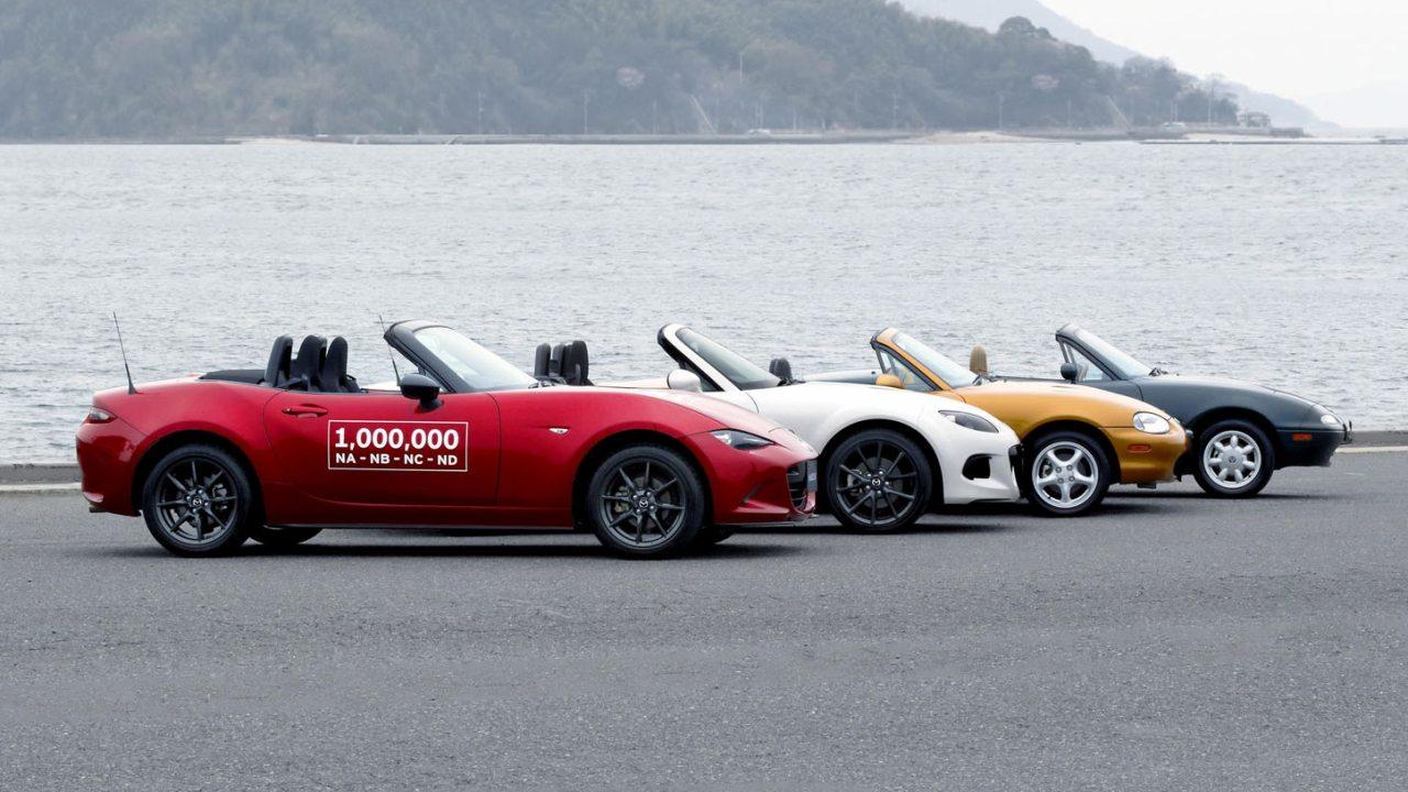 A Mazda MX-5 képességeit számos díjjal is elismerték