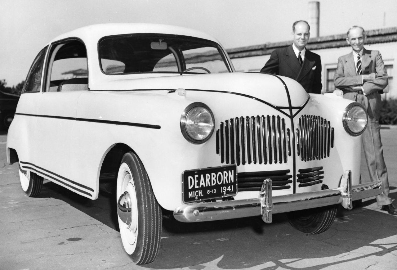 Henry Ford 1941-ben készített kenderautója szintén nem került sorozatgyártásba