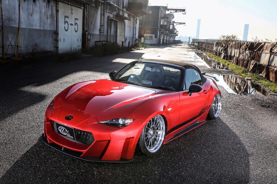 A japán Kuhl Racing szerint az új Mazda MX-5 idomainak is kell egy kis tuning