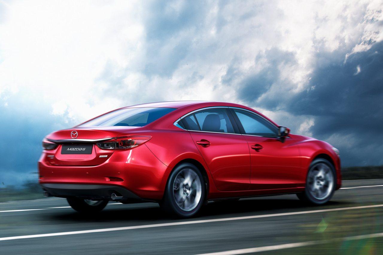 A Mazda6 az egyik leghosszabb, legimpozánsabb középkategóriás a piacon
