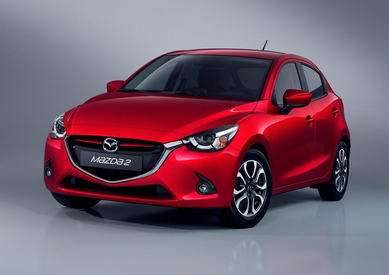 A sorozatgyártású Mazda2 megjelenése alig tér el a Hazumi tanulmányautóétól