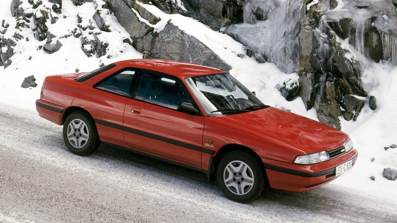 Az első MX-6 a Mazda 626 Coupé
