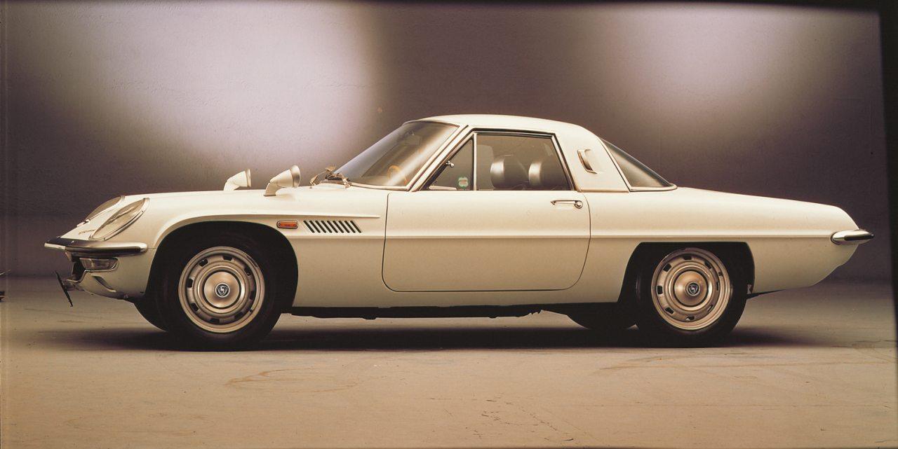 A Cosmo Sport volt az első Wankel-fecske a Mazdánál